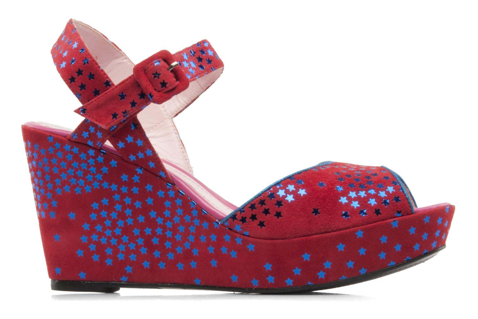 Sandals Annabel Winship Jodie Red back view