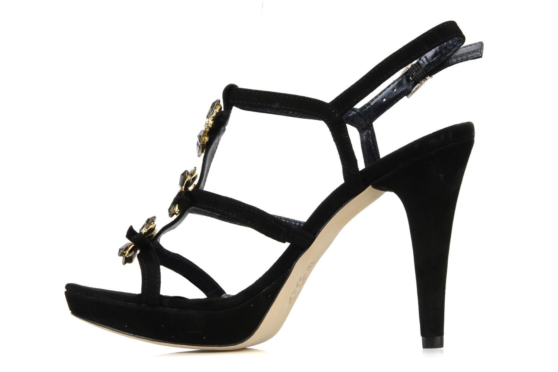 Sandales et nu-pieds Barachini Elmora Noir vue face