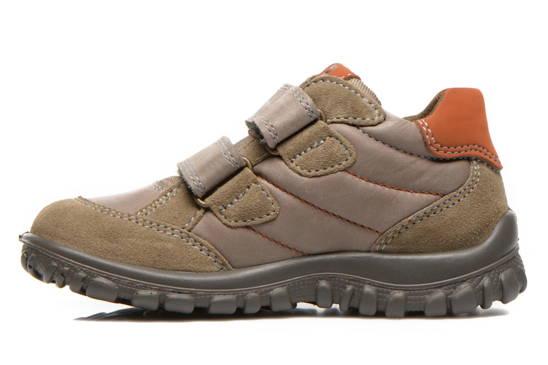 Schoenen met klitteband Primigi Leon Bruin voorkant