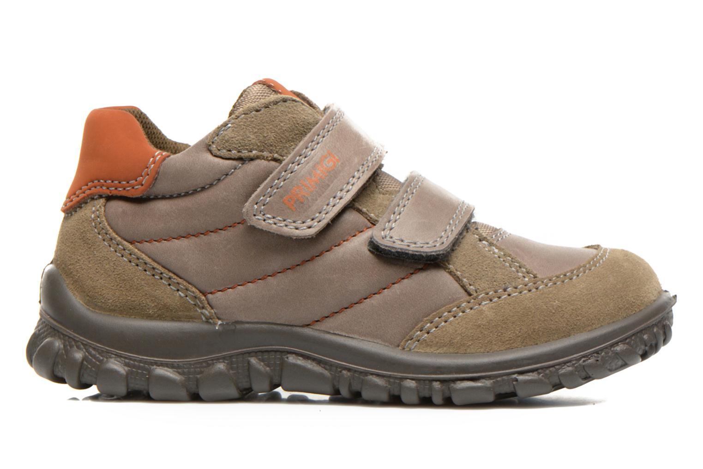 Schoenen met klitteband Primigi Leon Bruin achterkant