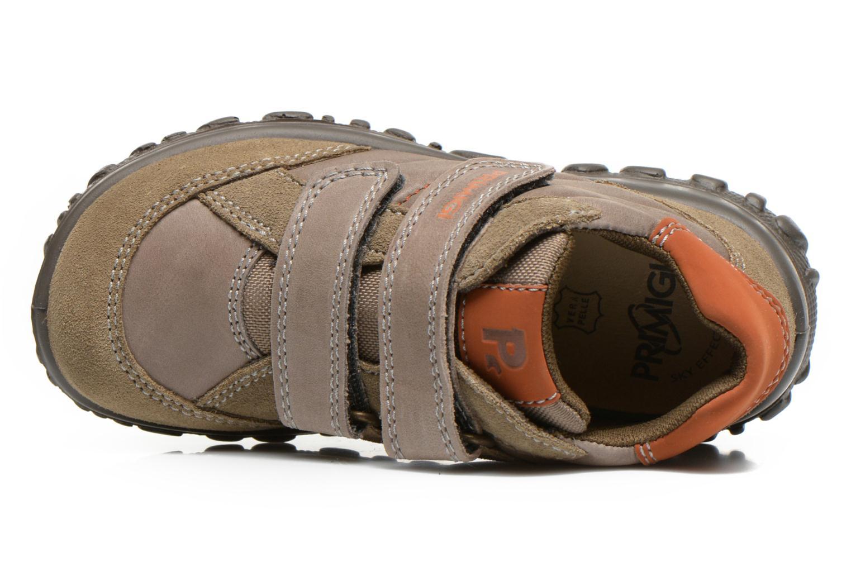 Schoenen met klitteband Primigi Leon Bruin links