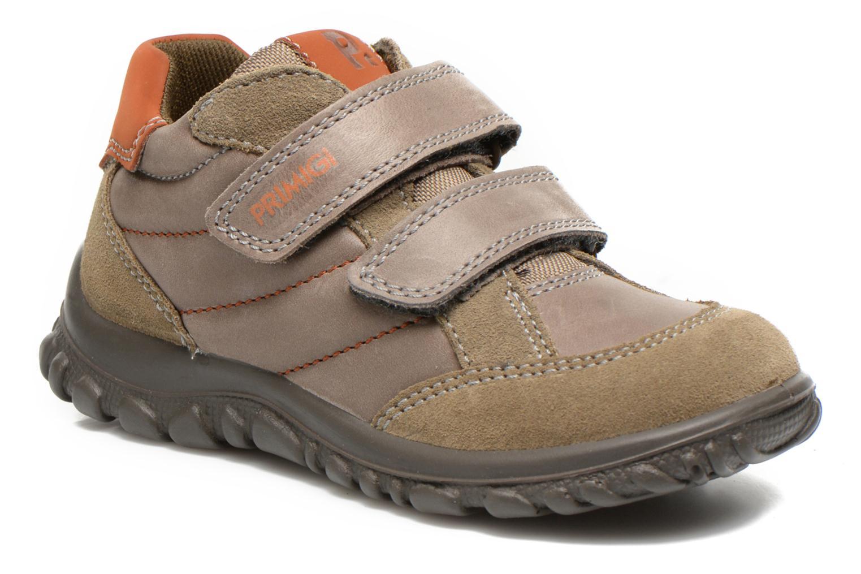 Schoenen met klitteband Primigi Leon Bruin detail