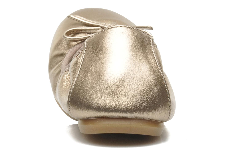 Ballerines Primigi Veridiana Or et bronze vue droite