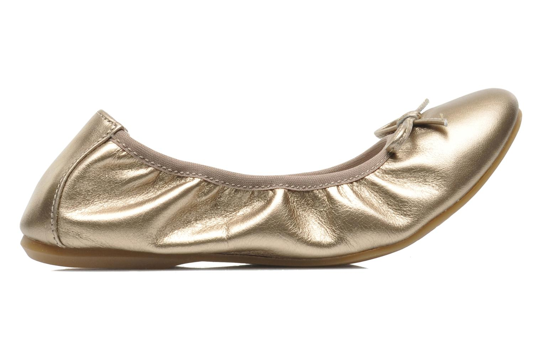 Ballerines Primigi Veridiana Or et bronze vue derrière