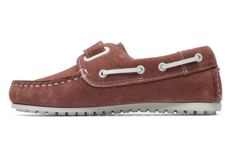 Chaussures à scratch Aigle Longlake Kid Bordeaux vue face