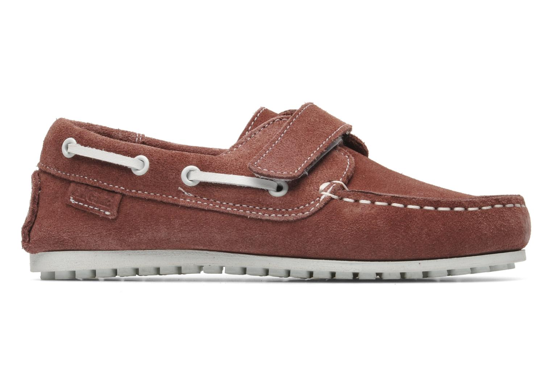 Chaussures à scratch Aigle Longlake Kid Bordeaux vue derrière