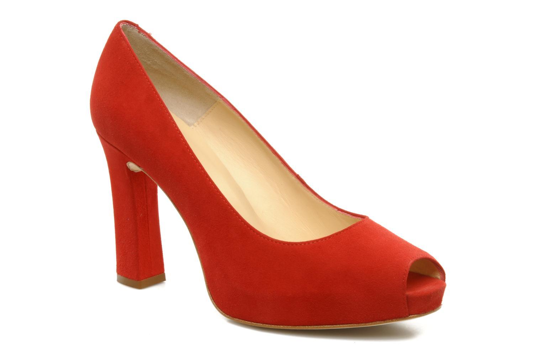 High heels Unisa Siro ks Red detailed view/ Pair view