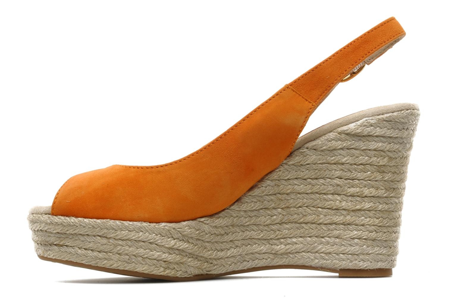Sandals Unisa Merin ks Orange front view