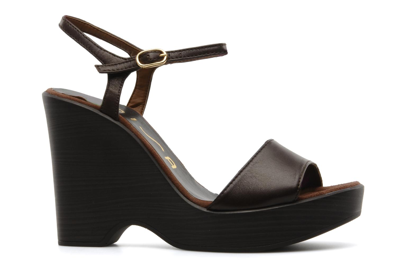 Sandals Unisa Oire Brown back view