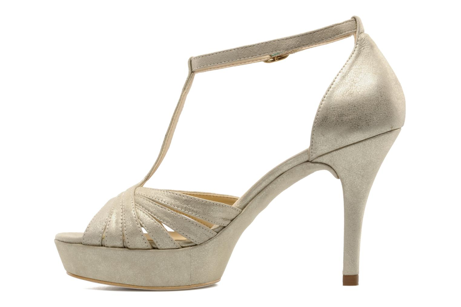 Sandals Unisa Varike ms Bronze and Gold front view