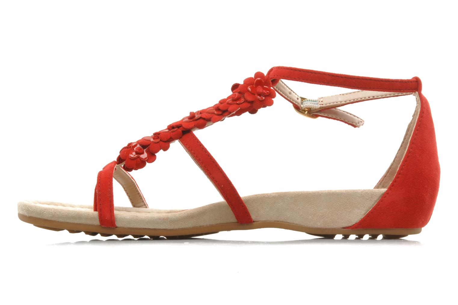 Sandals Unisa Afiles ks Red front view