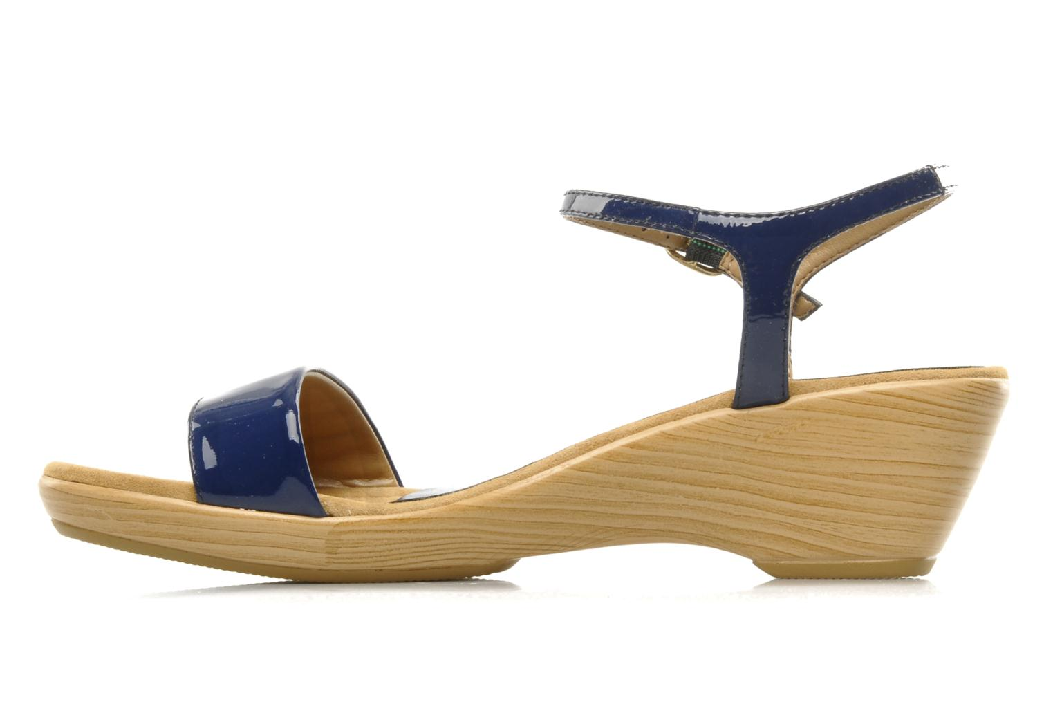 Sandals Unisa Irita ve Blue front view