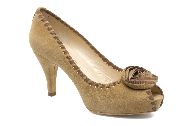 High heels Unisa Unelo ks Beige detailed view/ Pair view