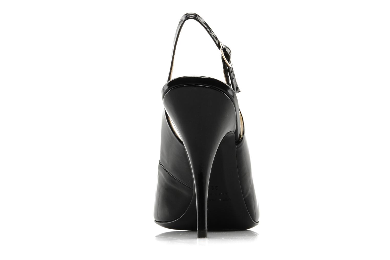 Sandales et nu-pieds Vicini Vrille Noir vue droite