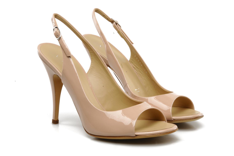 Sandales et nu-pieds Vicini Vrille Rose vue 3/4