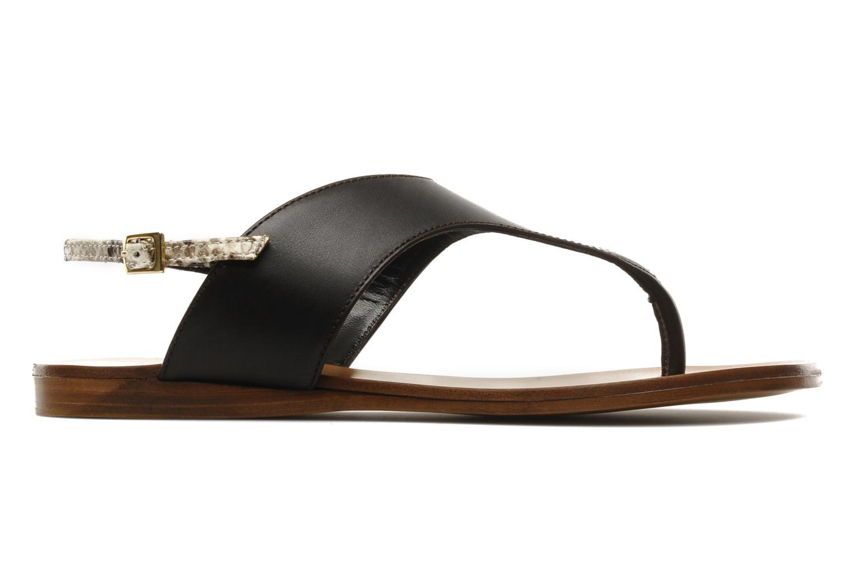Sandales et nu-pieds Tapeet Tefle Marron vue derrière