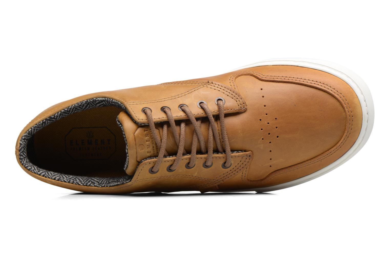 Chaussures de sport Element Topaz C3 Marron vue gauche