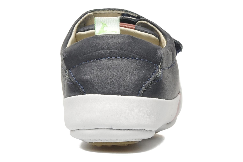 Baskets Tip Toey Joey New Flashy Bleu vue droite