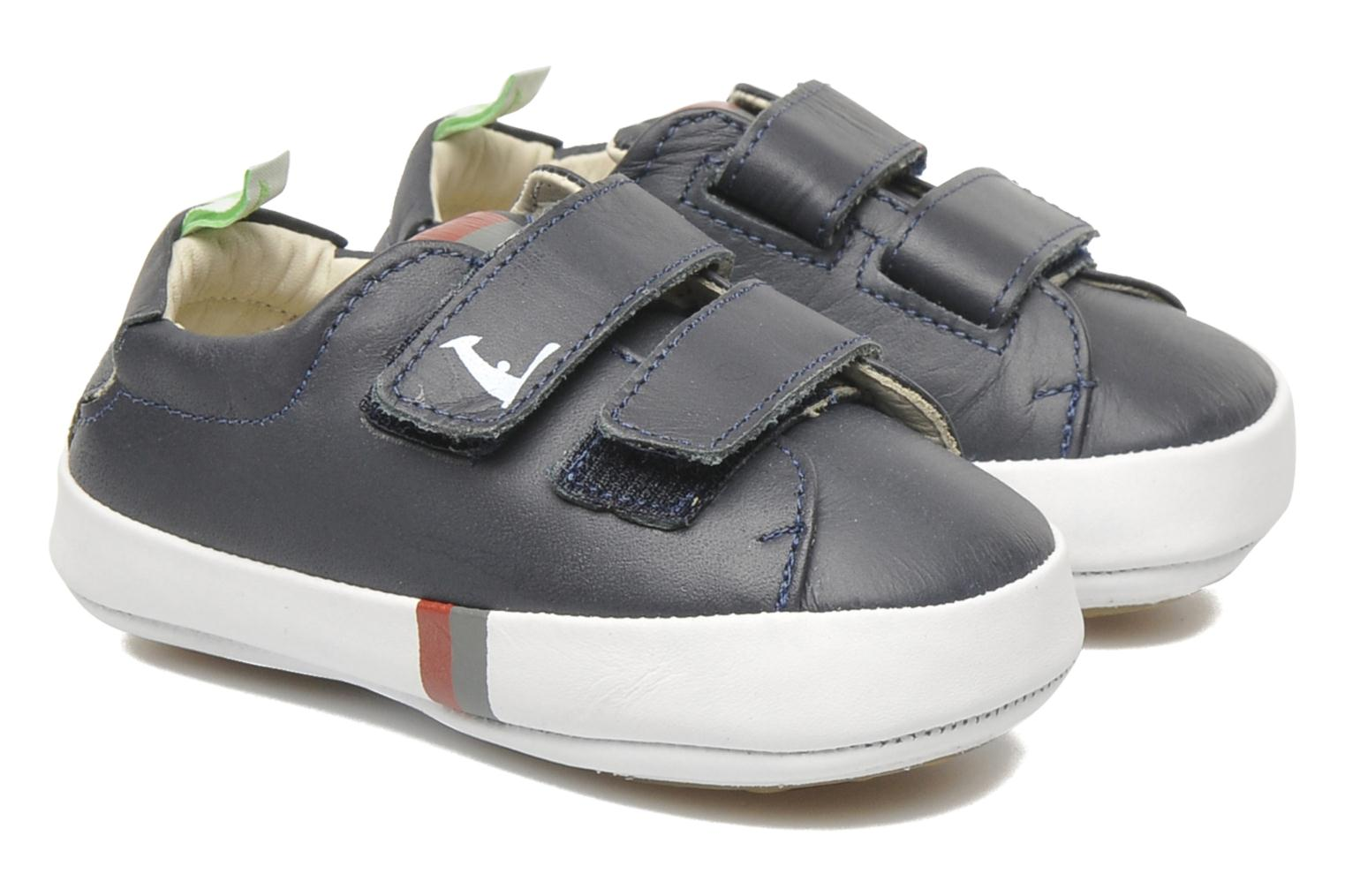 Baskets Tip Toey Joey New Flashy Bleu vue détail/paire