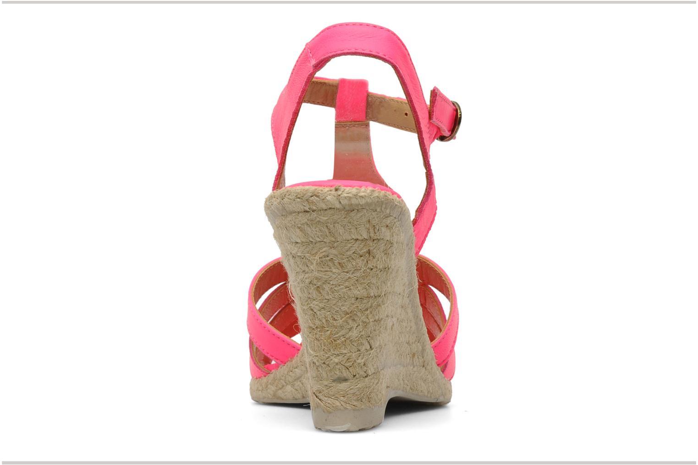 Sandales et nu-pieds Pare Gabia Assana Rose vue droite