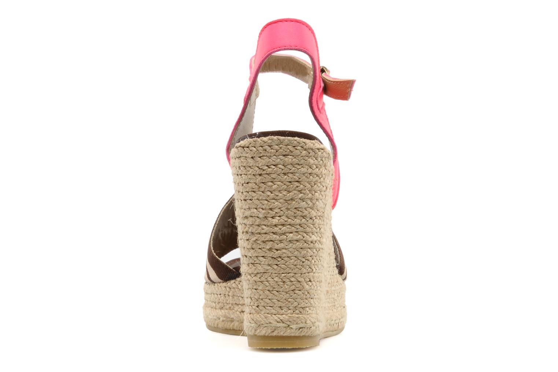 Sandales et nu-pieds Pare Gabia Ossia Marron vue droite
