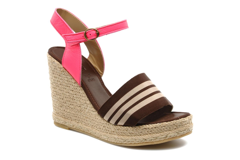 Sandales et nu-pieds Pare Gabia Ossia Marron vue détail/paire