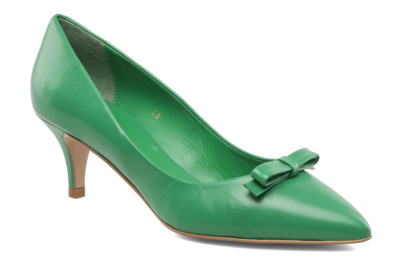 High heels Georgia Rose Maëllys Green detailed view/ Pair view