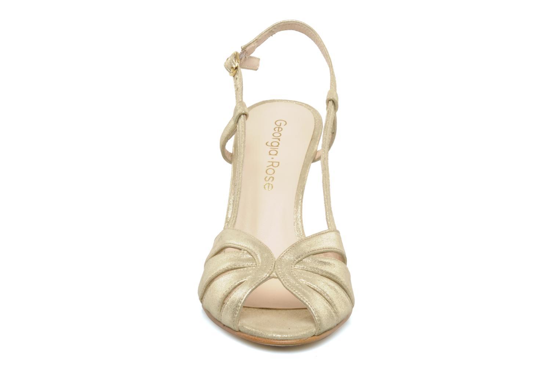 Sandals Georgia Rose Maraki Bronze and Gold model view