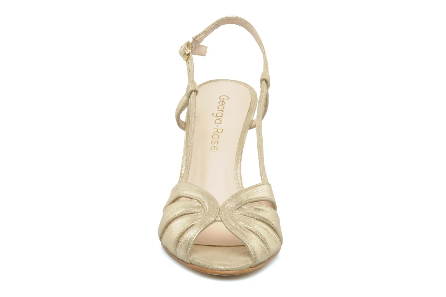 Sandals Georgia Rose Maraki Bronze and Gold model view