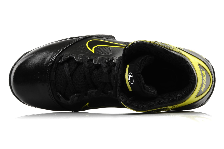 Sportschuhe Nike Air max full court 2 nt schwarz ansicht von links