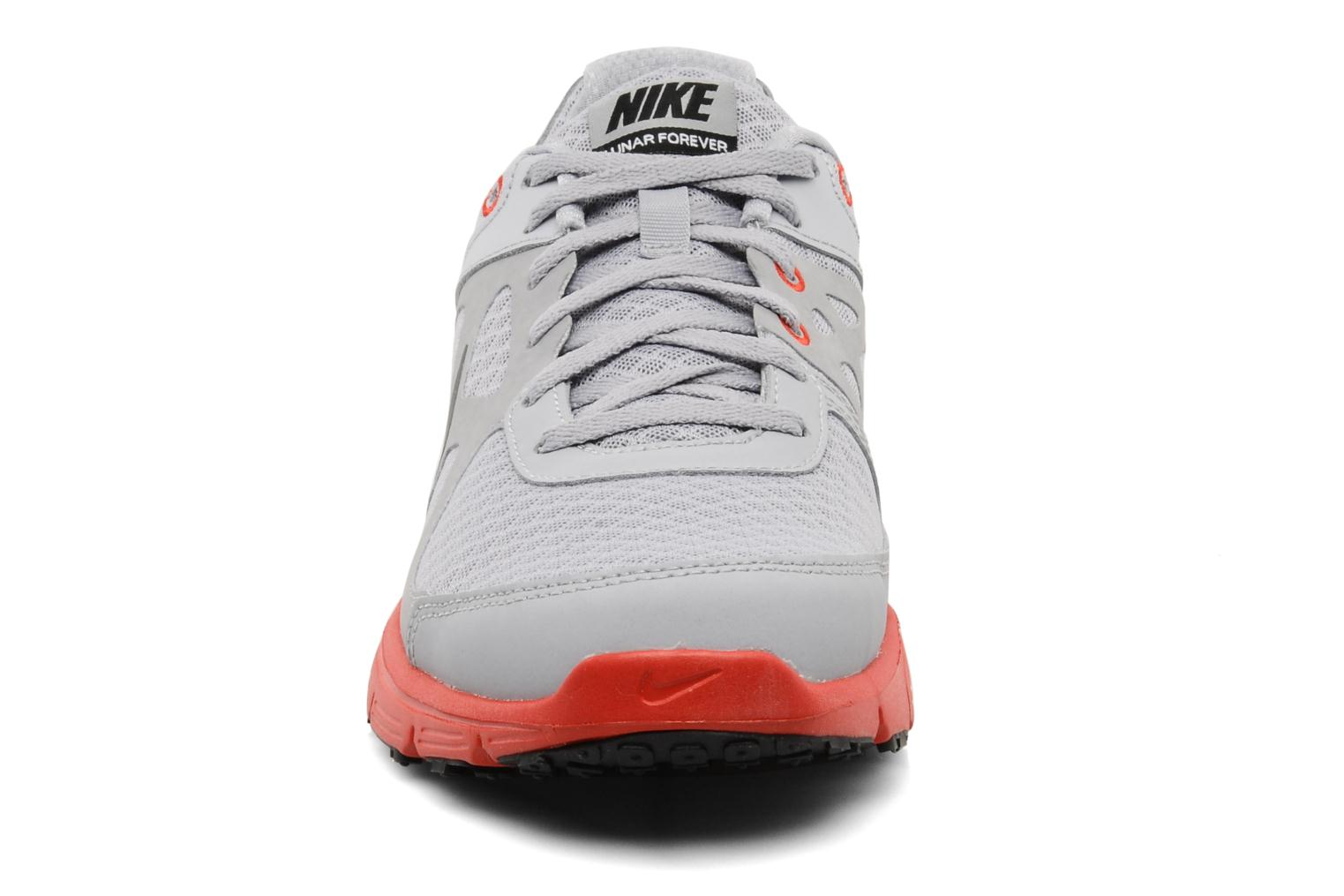 Sport shoes Nike Lunar forever Grey model view