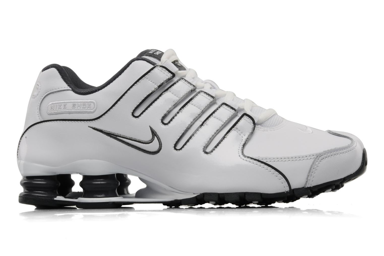 Sport shoes Nike Nike shox nz eu White back view