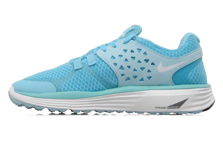 Scarpe sportive Nike Wmns nike lunarswift+ 3 Azzurro immagine frontale