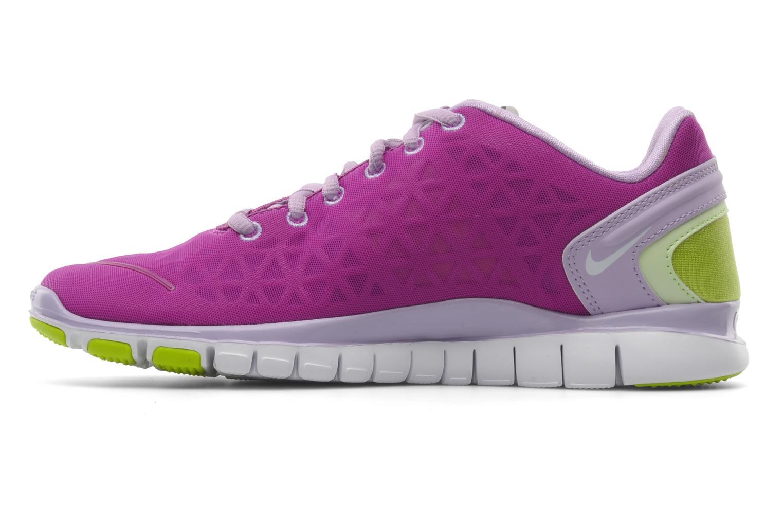 Chaussures de sport Nike Wmns nike free tr fit 2 Violet vue face