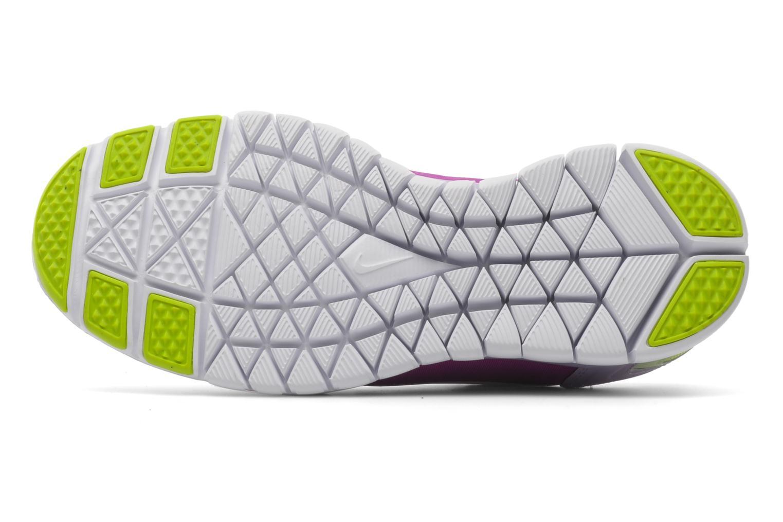 Chaussures de sport Nike Wmns nike free tr fit 2 Violet vue haut