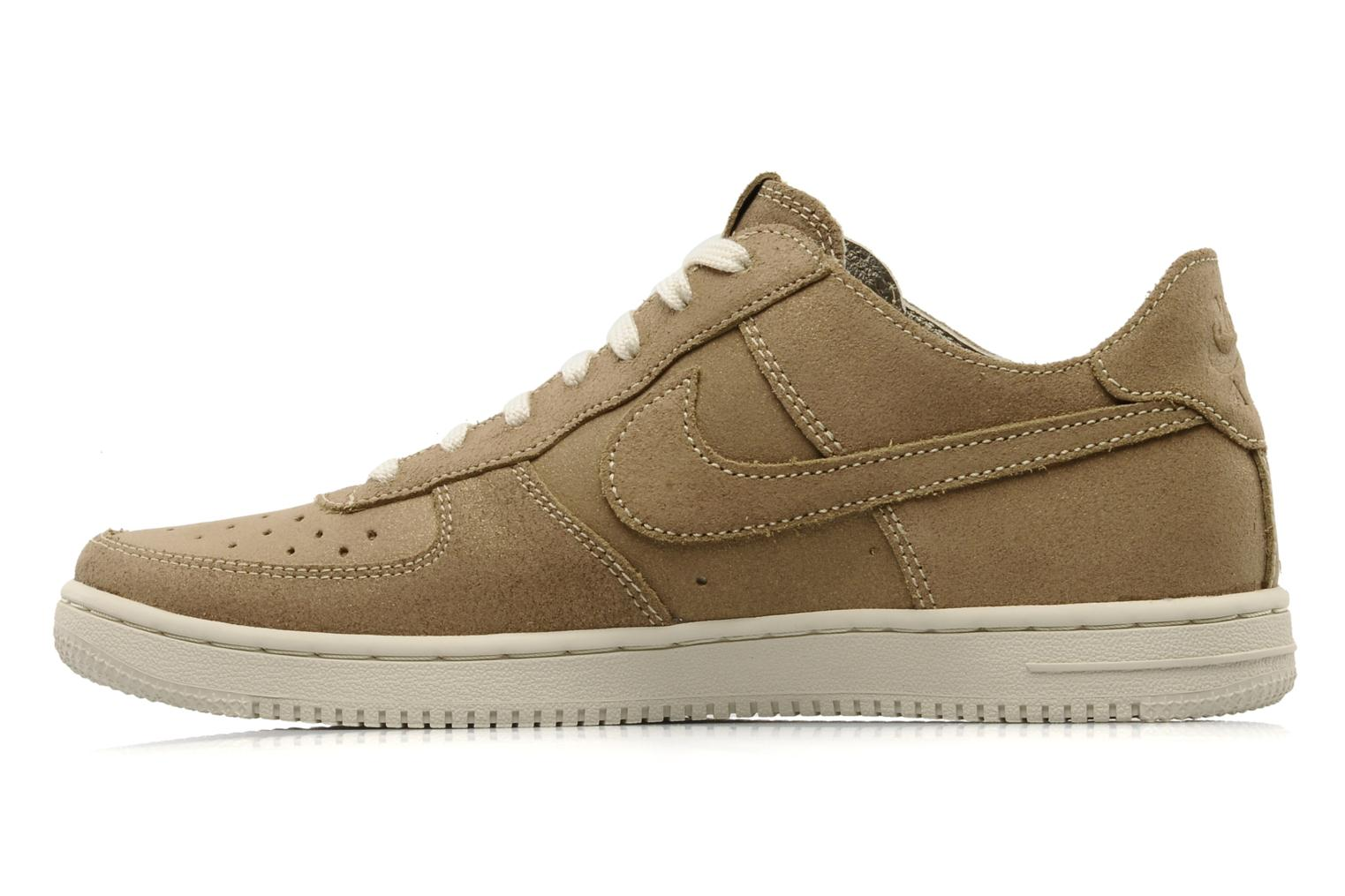 Sneakers Nike Wmns air force 1 low light Oro e bronzo immagine frontale