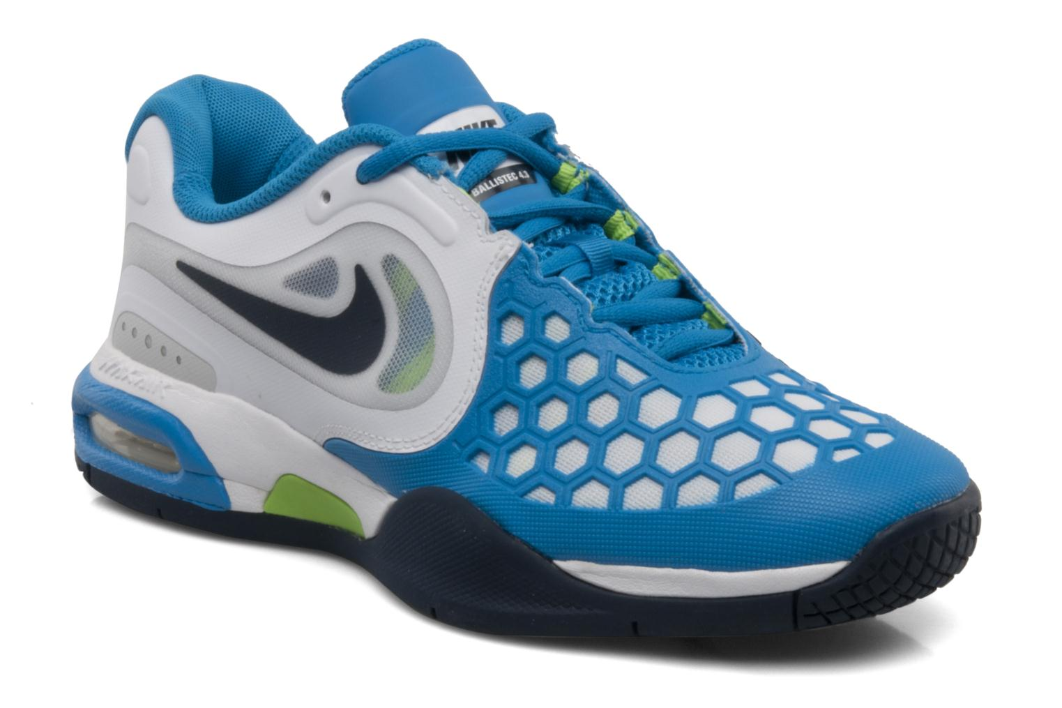 new product f25a2 e36b8 ... Air max courtballistec 4.3 bg White obsidian-nptn blue-blck  nike ...