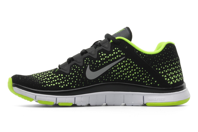 Sportschuhe Nike Nike free haven 3.0 schwarz ansicht von vorne