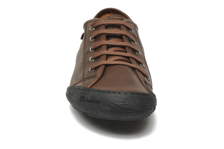 Baskets P-L-D-M By Palladium Game cash Marron vue portées chaussures