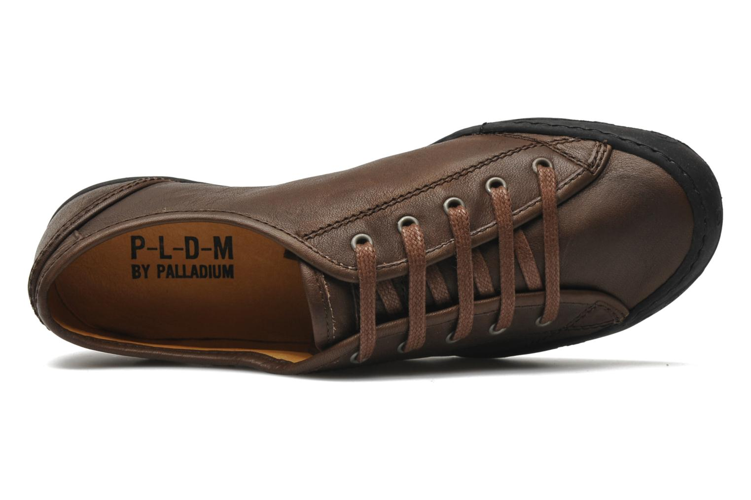 Baskets P-L-D-M By Palladium Game cash Marron vue gauche