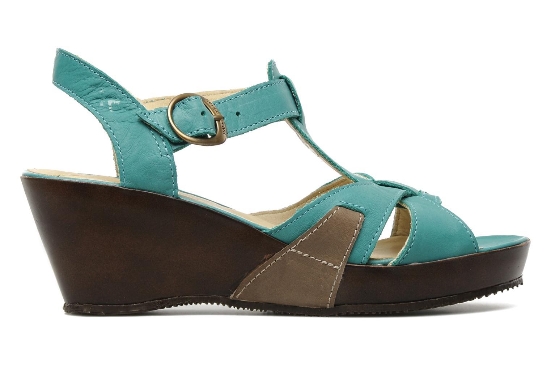 Sandales et nu-pieds Sergio Tomani Mula 3903 Bleu vue derrière