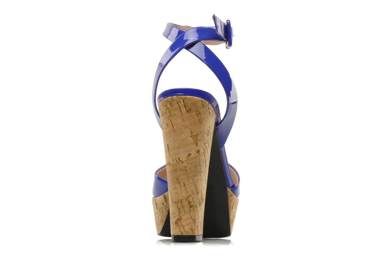 Sandales et nu-pieds Pour La Victoire Nasha Bleu vue droite