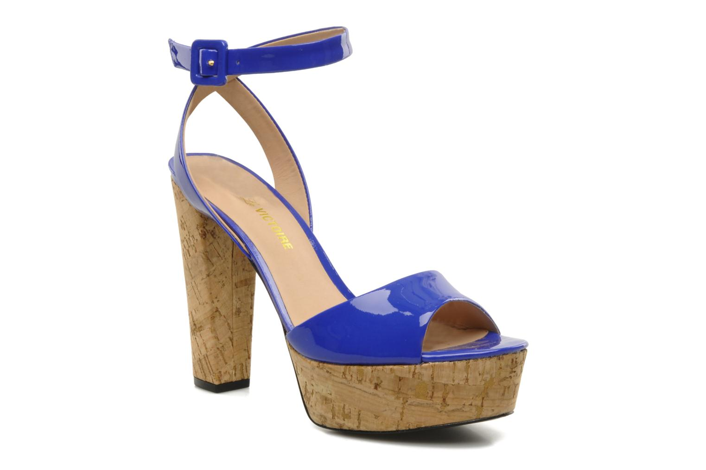 Sandales et nu-pieds Pour La Victoire Nasha Bleu vue détail/paire