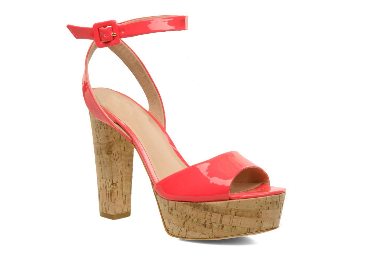Sandals Pour La Victoire Nasha Pink detailed view/ Pair view