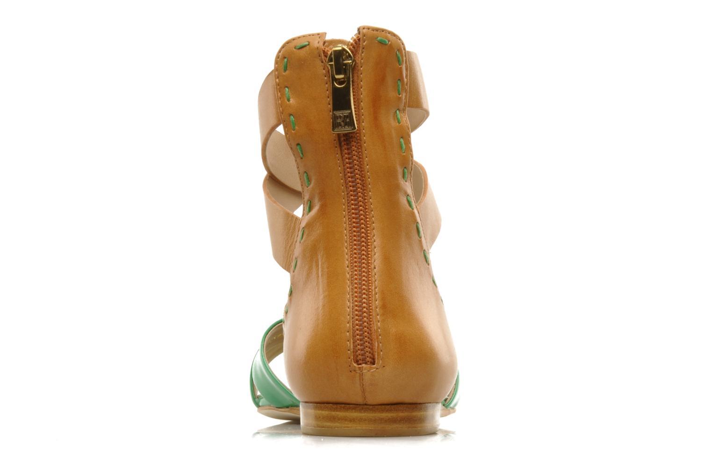 Sandalen Pour La Victoire Fabia grün ansicht von rechts