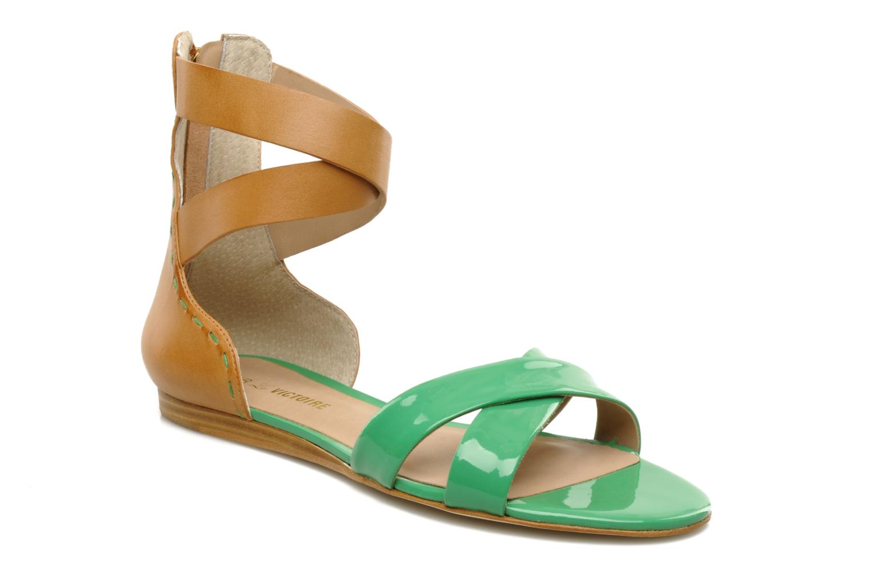 Sandalen Pour La Victoire Fabia grün detaillierte ansicht/modell