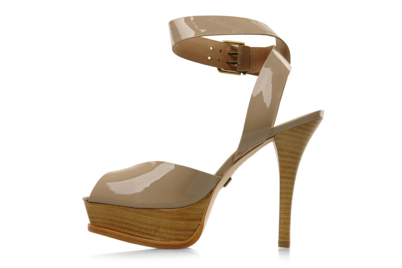 Sandales et nu-pieds Pour La Victoire Taryn Beige vue face