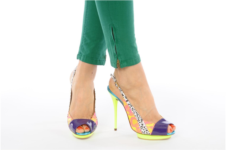 Sandals Ernesto Esposito Eba Multicolor view from underneath / model view