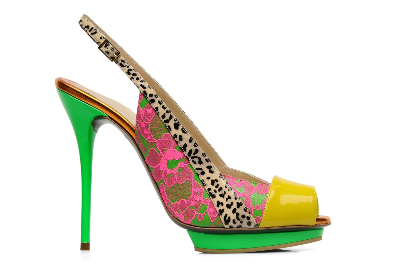 Sandals Ernesto Esposito Eba Multicolor back view