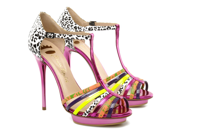 Sandals Ernesto Esposito Edme Multicolor 3/4 view